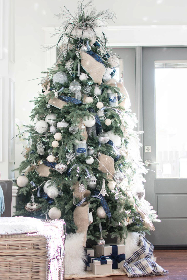 How To Decorate A Christmas Tree With Ribbon Step By Step Ideas